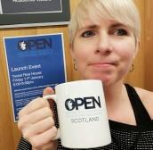 Lani Watson. OPEN Scotland Network Coordinator.